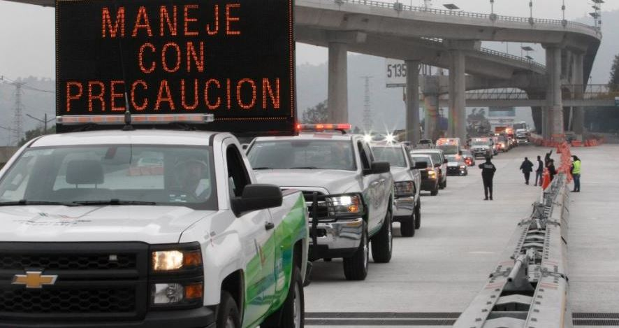 Refuerzan seguridad en aeropuertos y carreteras por regreso de vacacionistas