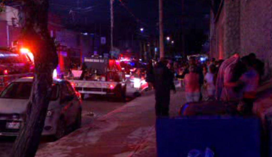 Se registra conato de incendio en la colonia Morelos, CDMX. (Noticieros Televisa)