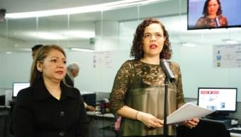 Senadoras del PAN demandaron acciones legales en contra de Karime Macías, esposa del exgobernador de Veracruz, Javier Duarte, y sus presuntos cómplices. (Twitter: @SenadoresdelPAN)