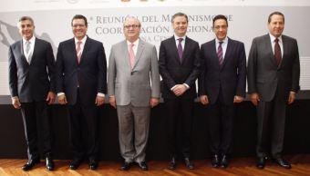 El encuentro fue privado y es el primero que se lleva a cabo tras haber presentado el Nuevo Modelo Educativo (Twitter/@aurelionuno)