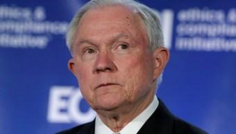 El fiscal general de Estados Unidos, Jeff Sessions, pronuncia un discurso en Washington, Estados Unidos (Reuters)