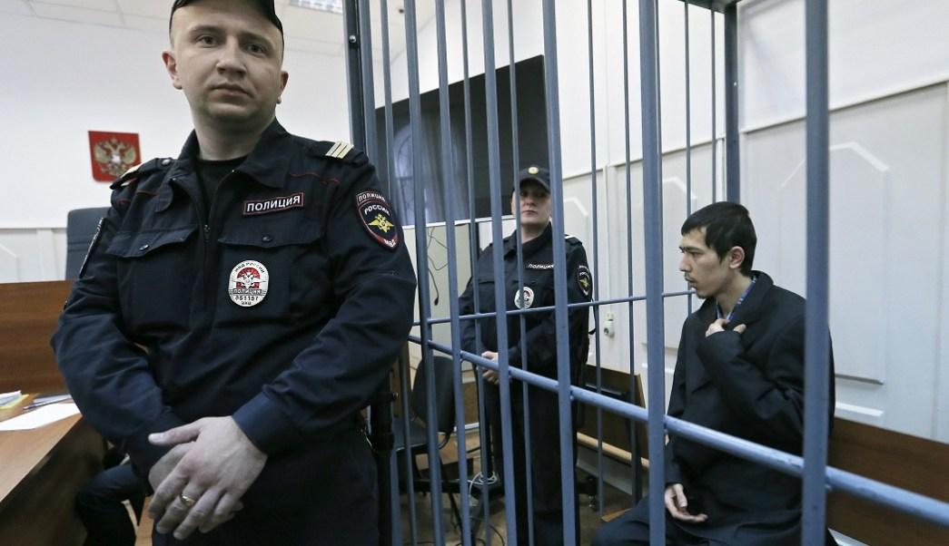 Uno de los presuntos organizadores del atentado del pasado 3 de abril contra el metro de San Petersburgo, Abror Azimov (EFE)