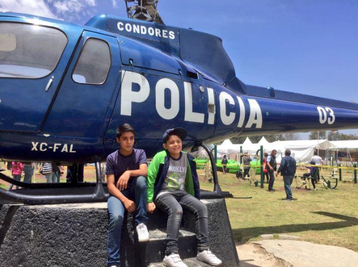 Cdmx, Policia, Niños, Festejo
