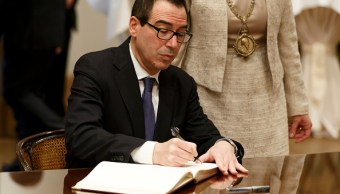 Steven Mnuchin, secretario del Tesoro en Estados Unidos. (Getty Images)