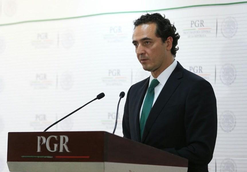 Subprocurador jurídico y de Asuntos Internacionales de la PGR, Alberto Elías Beltrán.