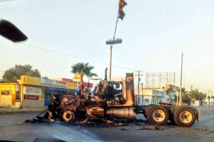 Enfrentamiento en Tamaulipas. (@tonyexpreso)