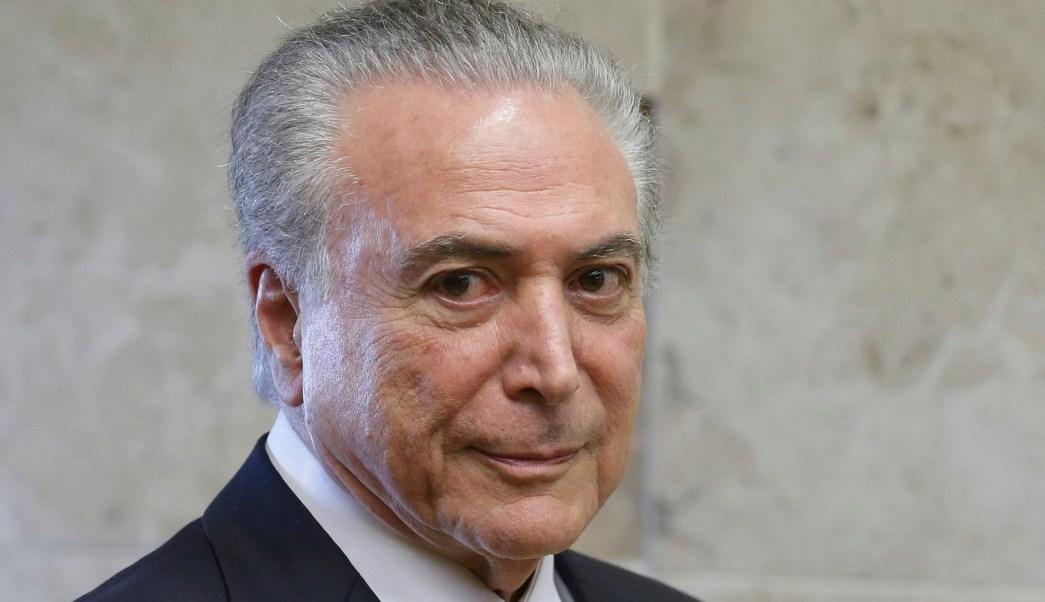 Michel Temer, presidente de Brasil. (Archivo/AP)