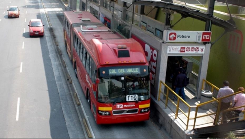 Metrobus interrupcion servicio cuatro lineas sismo