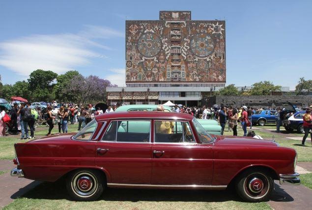 Muchos autos recorrieron más de cinco mil kilómetros para ser exhibidos (Notimex)