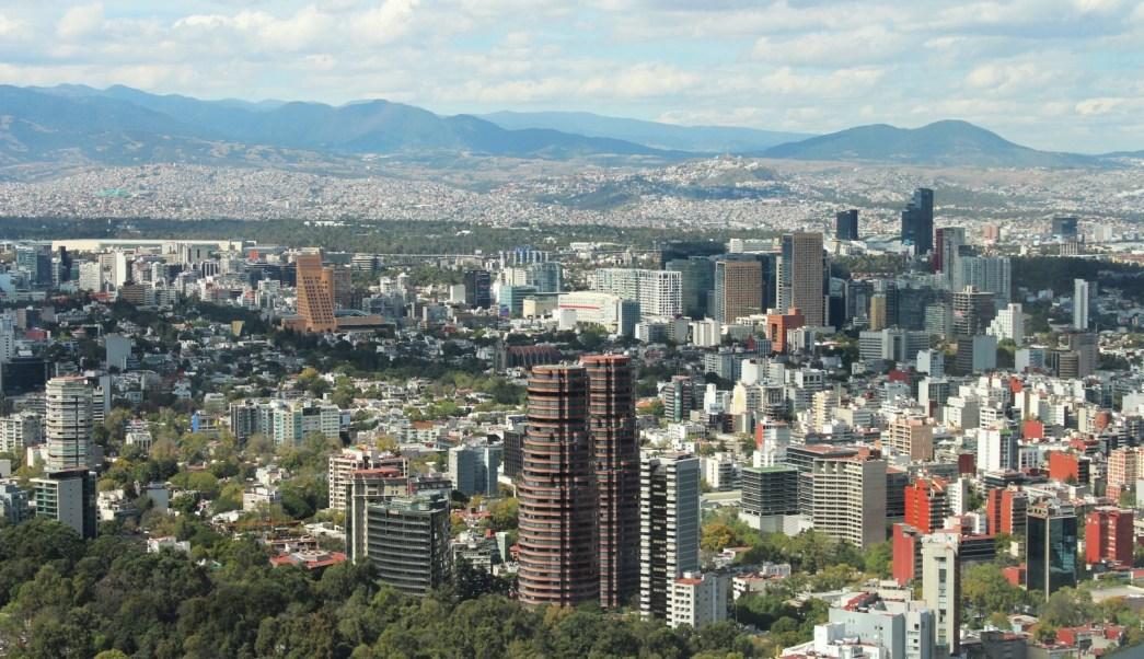 Panorámica del Valle de México; prevén una temperatura máxima de 24 grados centígrados. (Notimex)