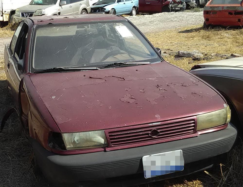Vehículo con reporte de robo encontrado en Celaya, Guanajuato (Fiscalía de Querétaro)
