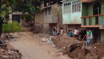 Viviendas afectada por sismo en Guerrero. (Sedesol, Archivo)