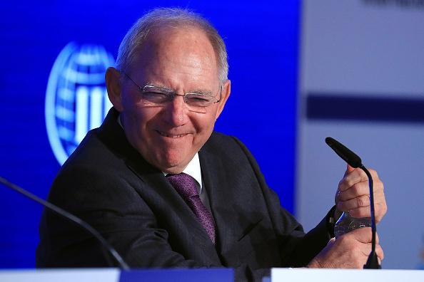 Wolfgang Schäuble, ministro alemán de Finanzas. (Getty Images)