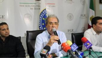 Xavier Olea Peláez, fiscal de Justicia de Guerrero. (Twitter @FGEGuerrero)