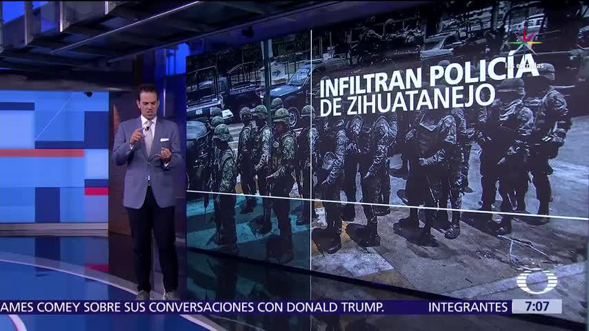 policías en Zihuatanejo, Guerrero, Policía Municipal, 60 detenidos