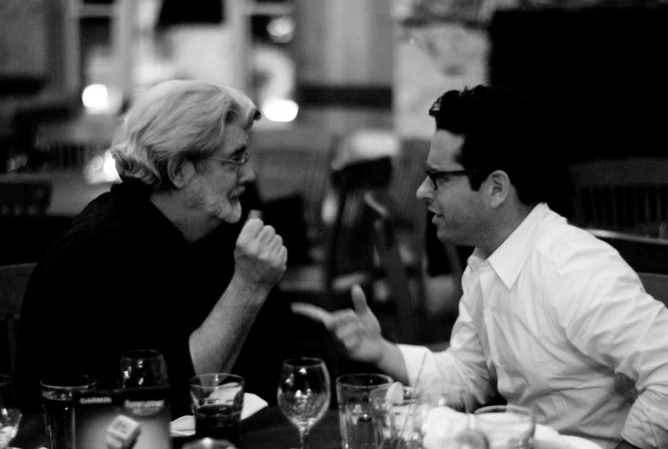 George Lucas y JJ Abrams hablan sobre Star Wars
