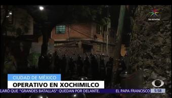 Pobladores, San Lorenzo Atemoaya, Xochimilco, CDMX, linchamiento
