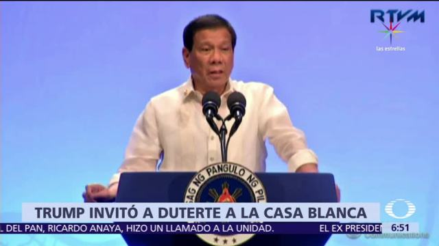 Donald Trump, presidente, Filipinas, Casa Blanca