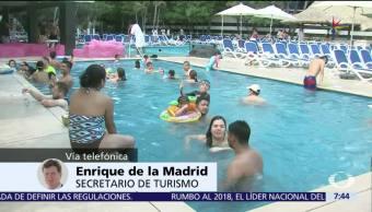 Enrique de la Madrid, secretario de Turismo, crecimiento, sector turistico