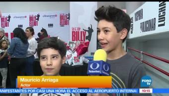 elenco infantil, montaje 'Billy Elliot, Billy Elliot, el musical