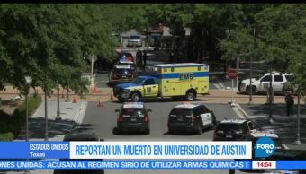 Ataque, estados unidos, Universidad de Texas, Austin