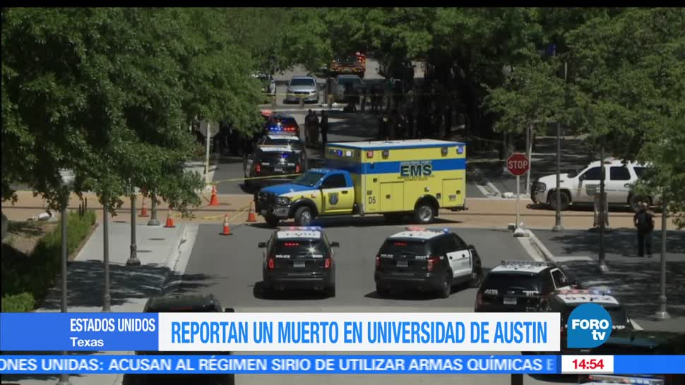 Ataque, estados unidos, Universidad de Texas, Austin