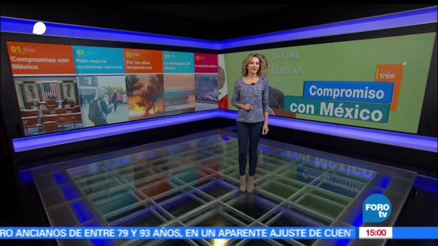 televisa, A las Tres, Ana Paula Ordorica, televisa news