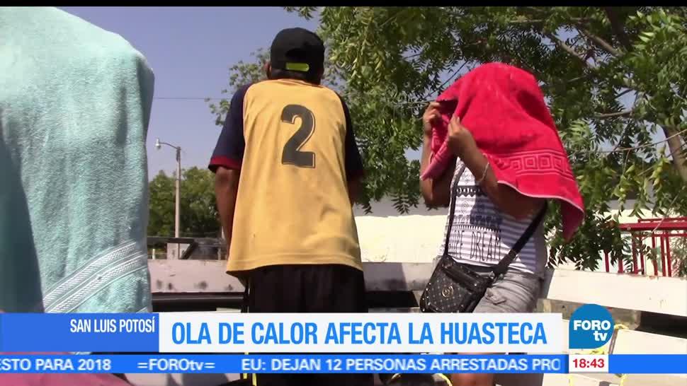 Calor extremo, San Luis Potosí, zona, Huasteca, altas, temperaturas