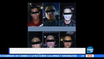 Noticias, Televisa News, banda, asaltantes de colombianos, asaltantes, ciudad de mexico