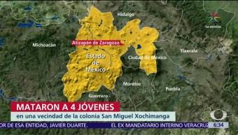 asesinados, vecindad, San Miguel Xochimanga, Estado de México