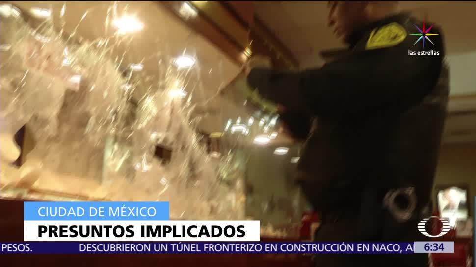 Ciudad de México, robo, centro comercial, Pabellón Cuauhtémoc