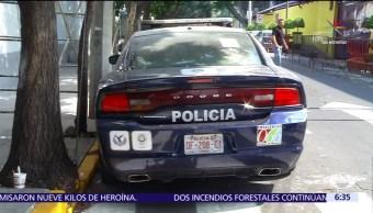 Ciudad de Mexico, policias, patrullas, miguel angel mancera