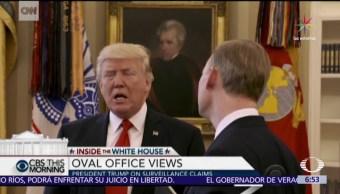 Casa Blanca, periodista, CBS, Donald Trump