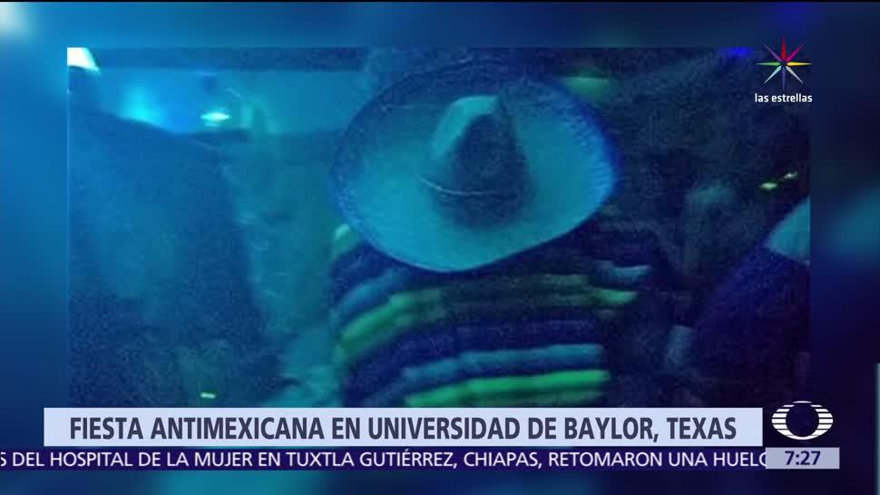 Universidad de Baylor, Baylor, Estados Unidos, alumnos, muro fronterizo,