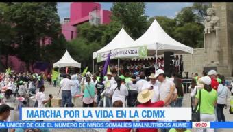 Esteban Arce, detalles, Marcha por la Vida, CDMX