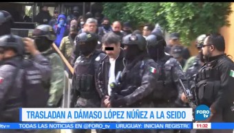 Dámaso, instalaciones de la Seido, Ciudad de México, situación jurídica