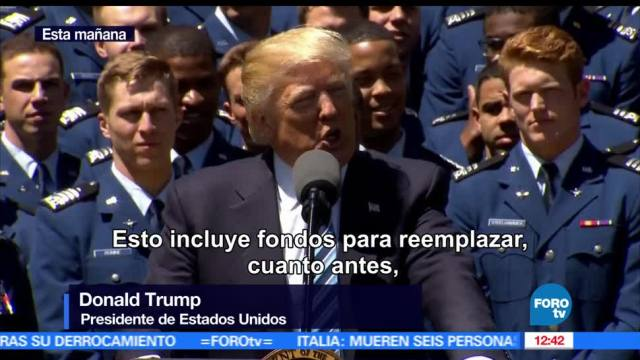Tenemos presupuesto, construir el muro, Trump, estados unidos