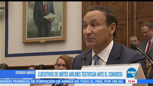 Ejecutivos, United Airlines, Cámara de Representantes, violencia