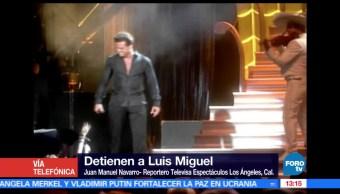 Luis Miguel, se entrega, Los Ángeles, California