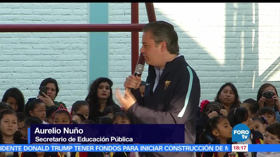 Aurelio Nuño, futuro del país, secretario de Educación Pública, primaria