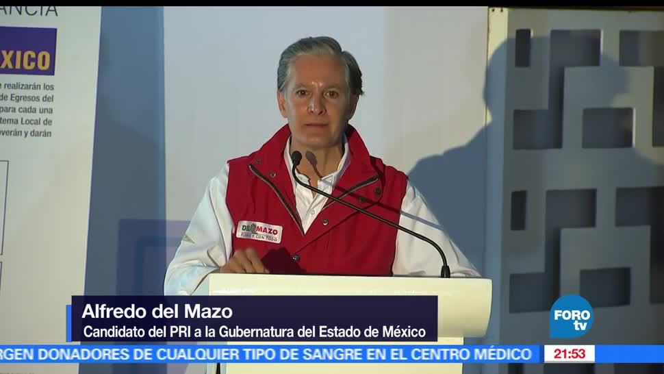 noticias, forotv, Alfredo del Mazo, firma Pacto, Primera Infancia, visita Valle de Bravo