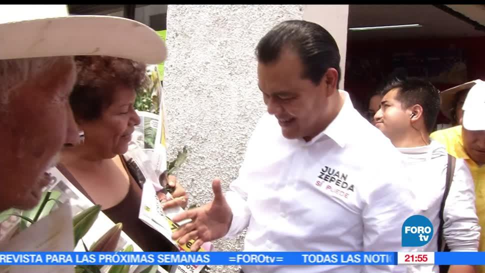 noticias, forotv, Juan Zepeda, firma decalogo, pro de las mujeres, toluca