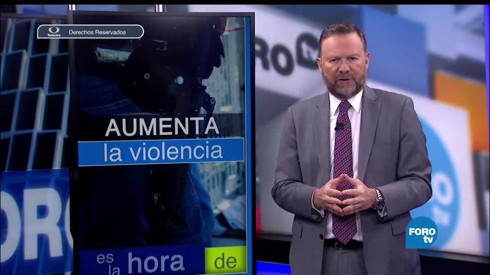 noticias, forotv, Aumentan los homicidios, pais, Eduardo Guerrero, televisa news