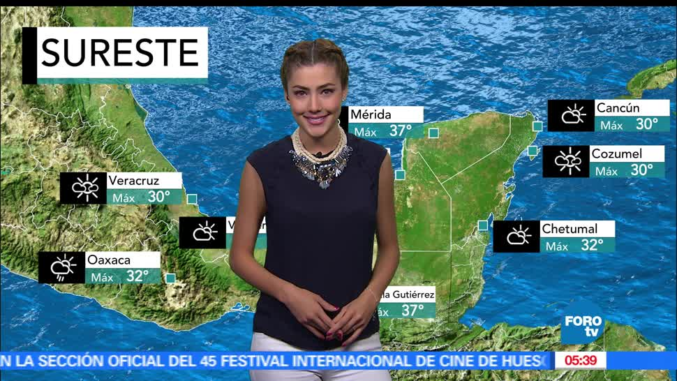 El clima, Daniela Álvarez, nuevo frente frío, franja fronteriza