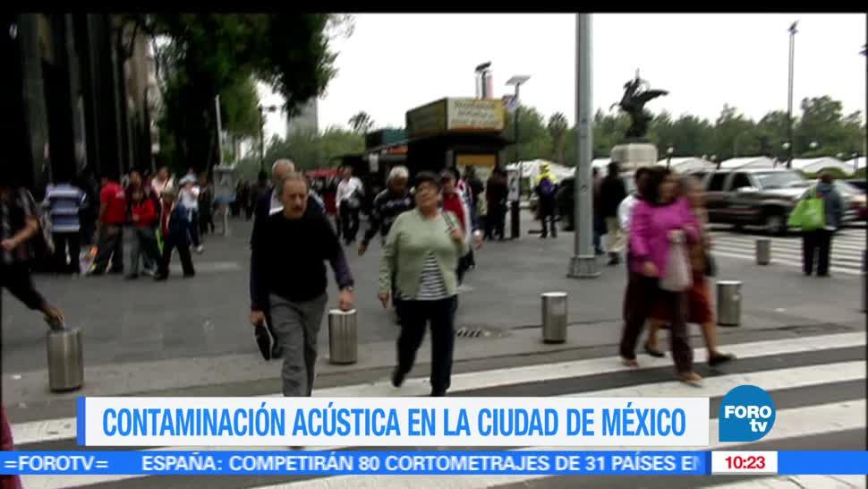Contaminacion acustica en la Ciudad de Mexico, Contaminación acustica, Contaminacion, Acustica