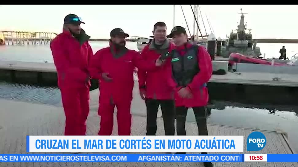 Mexico sobre Ruedas, Mar de Cortes, Motos acuaticas, Matutino Express