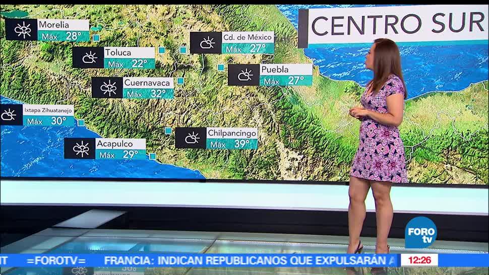 Ciudad de México, lloviznas, clima, condiciones climatologicas