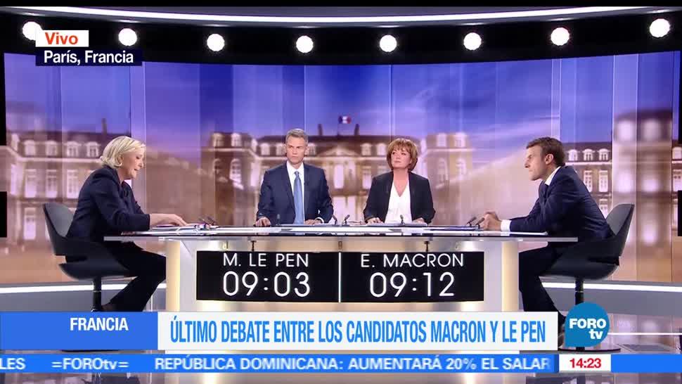 Emmanuel Macron, Marine Le Pen, elección presidencial, Francia