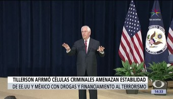 Rex Tillerson, secretario de estado,México, Washington