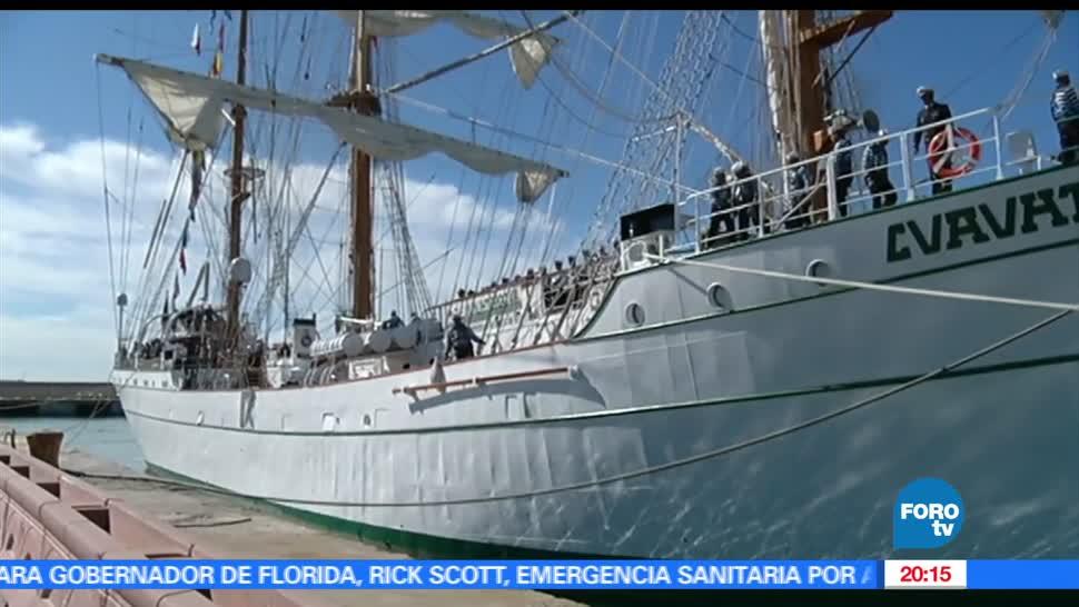 noticias, televisa news, Buque Escuela, Cuauhtemoc, Italia, buque